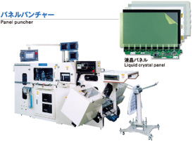 Panel puncher / Liquid crystal panel
